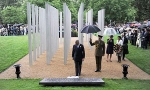 Prince Charles at the opening ceremony of 7/7 Memorial